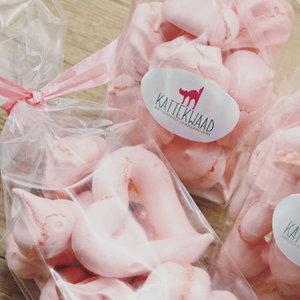 Kattekwaad Roze meringues (30g)